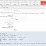 PayUMoney Configuration Page